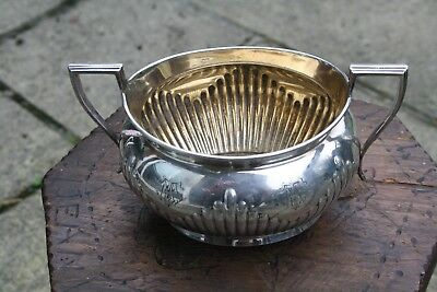 Antique Silver Plated sugar Bowl