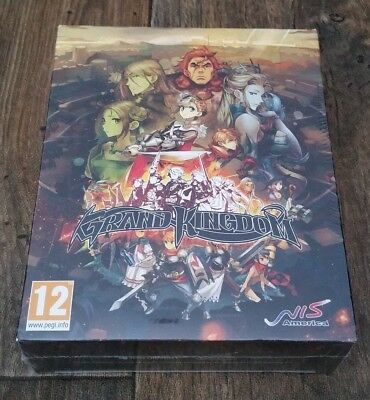Grand Kingdom LIMITED EDITION Sony PlayStation 4 PS4 Brand New & Factory Sealed