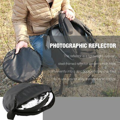 Round 5 in 1 Photography Studio Light Mulit Collapsible Disc Reflector  QP