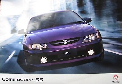 Holden VY Commodore SS Showroom Poster