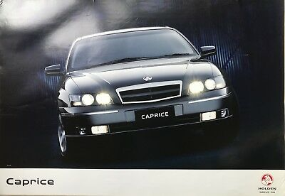Holden Statesman Caprice WL WK V8 Sales Poster See also brochure listed