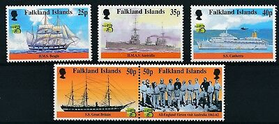 [H12019] Falkland Isl 1999 : Boats - Good Set of Very Fine MNH Stamps