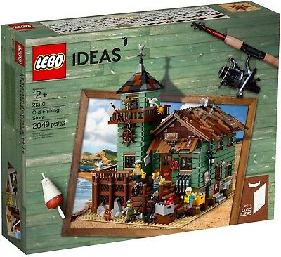 LEGO 21310 Ideas Old Fishing Store RETIRED SET Brand New Free delivery