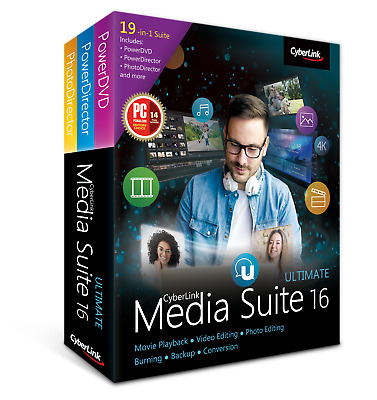 CyberLink Media Suite Ultimate - Multi Versions, Digital download only