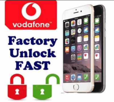Super Fast Iphone 6S / 6S Plus Unlocking Service Vodafone Uk 24 Hours Service