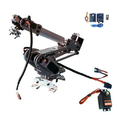 Wifi Control S5 5 DOF Metal Mechanical Robot Arm Clamp Claw Kit Manipulator