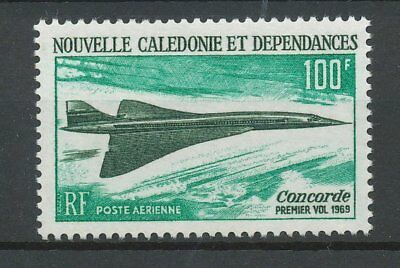 [K0046] New Caledonia 1969 Concorde airmail good stamps very fine MNH value $42
