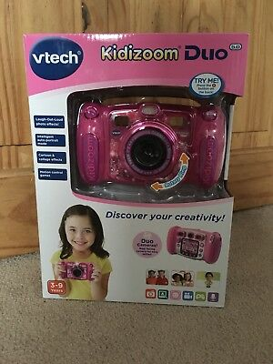 Vtech Kidizoom Duo Camera Pink - BRAND NEW SEALED