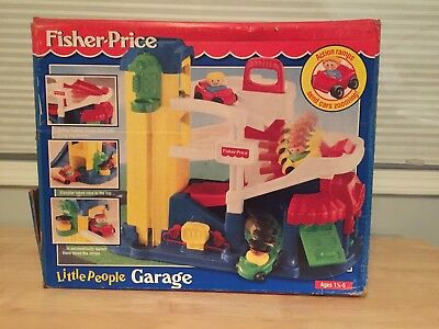 Fisher Price Little People Garage With Box 1995 29 99 Picclick