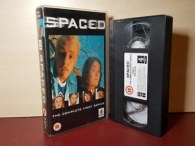 Spaced - The Complete First Series - Simon Pegg - PAL VHS Video Tape (H98)