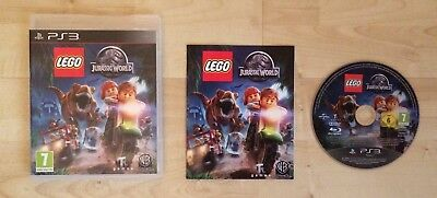 Lego Jurassic World Playstation 3 PS3 Game Complete Tested And Working