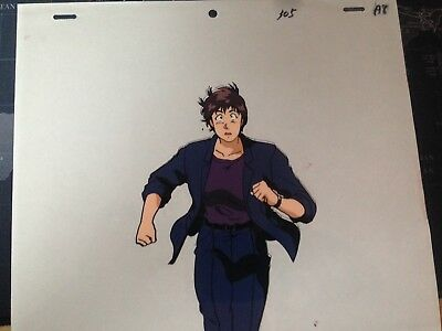 ANIME CEL CITY HUNTER KAORI original production with douga