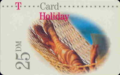 T-Card Holiday (11), 25 DM