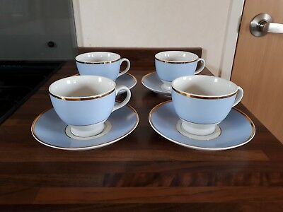 Royal Doulton Bruce Oldfield / Daily Mail Cups & Saucers x 4