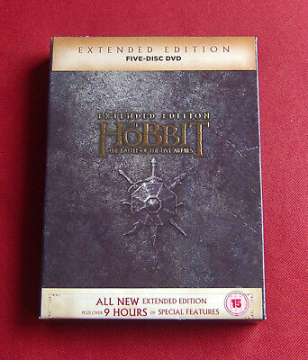The Hobbit - The Battle Of The Five Armies - Extended Edition - Region 2 DVD Set