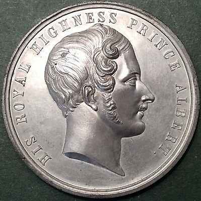 Superb, 53mm, 1851 prince Albert / Great Exhibition Medal By Thomas Ottley.