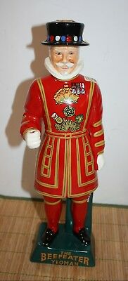 "Beefeater Yeoman Statue Carlton Ware 16"" Decanter"
