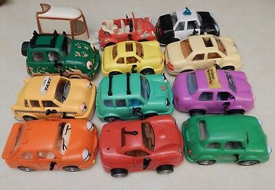 """Vintage Chevron Chevy Toy Cars Lot of 12 w/ 6 """"Owner Manuals"""""""