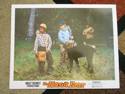 THE BISCUIT EATER Walt Disney Vintage Lobby Card 1972 Johnny Whittaker (lot A)