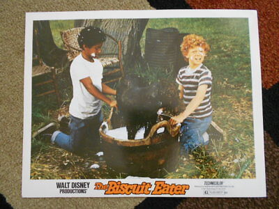 THE BISCUIT EATER Walt Disney Vintage Lobby Card 1972 Johnny Whittaker (lot B)