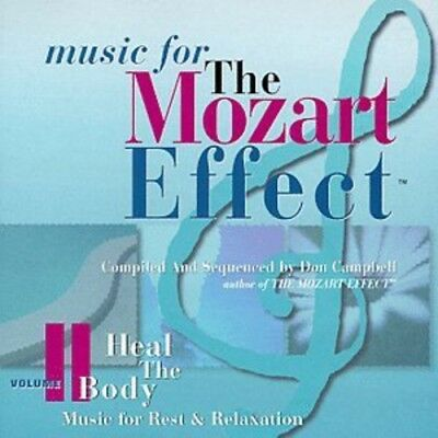 Don Campbell - Mozart Effect 2: Heal Body New Cd