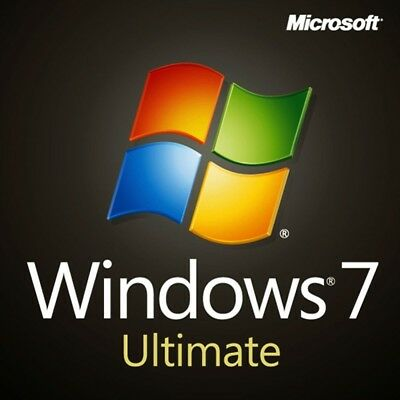 Windows 7  Ultimate 32 & 64-Bit Install | Boot | Recovery | Restore DVD Disk