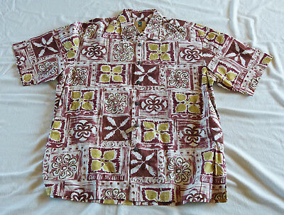 Kahala Hawaiian shirt, made in Hawaii XL