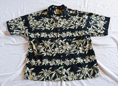 Tommy Bahama 100% Silk Hawaiian shirt XL