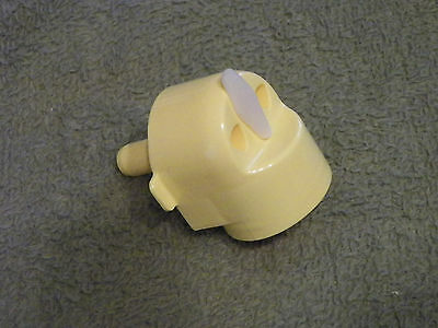 Medela Replacement Pump Connector With Port Plug  #8007195 -  Free Shipping