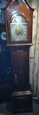 ANTIQUE TEMPUS FUGIT GRANDMOTHER CLOCK with Enfield movement IN E.W.O  ATFE3