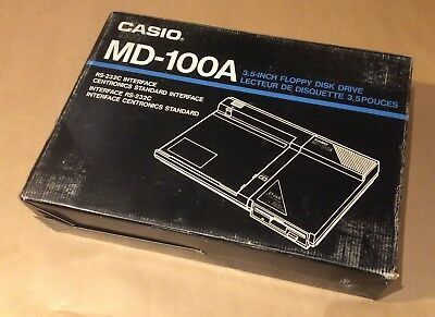 NEW- CASIO MD-100 Floppy Disk Drive