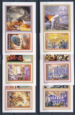 [G91740] Guinea 2002 Firefighters good set of 6 sheets Very Fine MNH