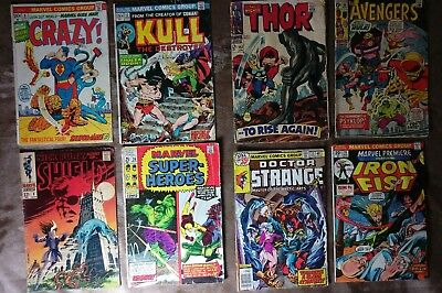 Huge Comic Lot - 58 Vintage: DC, Marvel, Imports to Moderns: Valiant, Simpsons