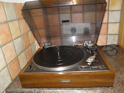Pioneer PL-120 Belt Drive Stereo Turntable Good Condition