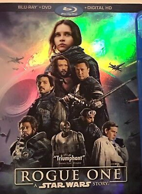 Rogue One: a Star Wars story (Blu-ray/DVD) No Digital PreOwned