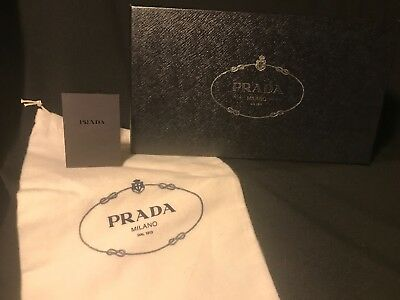 "Prada Shoe Box (empty) 12"" x 7"" x 4.5"" Black Authentic"