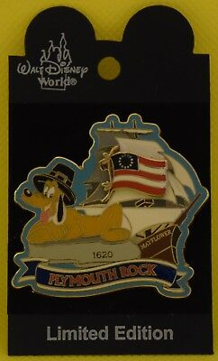 Disney World PLUTO PLYMOUTH ROCK SLIDER LE 1500 Pin - Retired Pins