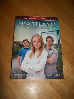 Heartland: The Complete Seventh Season DVD Set (2014, 5-Disc Set, CBC) Season 7