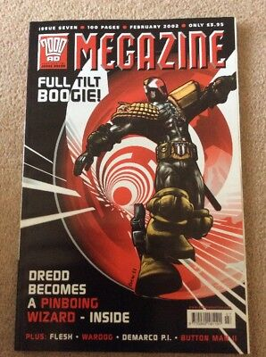 2000 AD Judge Dredd Megazine Volume 4 Issue Numbers 7 - 13 (7 Comic Progs) VGC