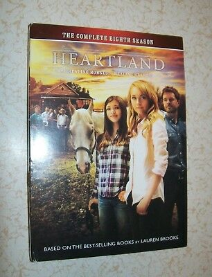 Heartland: The Complete Eighth Season DVD Set (2015, 5-Disc Set, CBC) - Season 8
