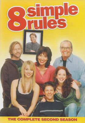 8 Simple Rules - The Complete Second (2nd) (Ke New DVD