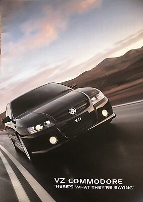 Holden VZ Commodore and Calais Large Sales Brochure