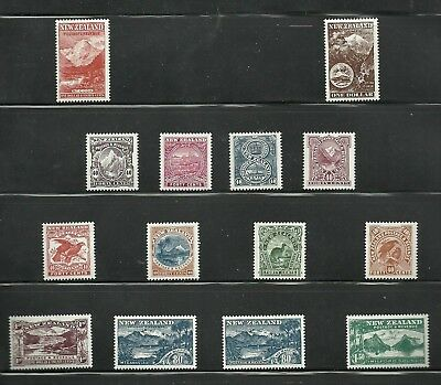 New Zealand 1998-1898 Pictorials 100yrs set of 14, mint never hinged
