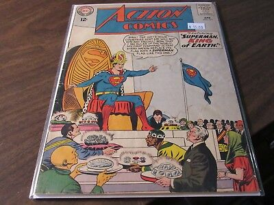 Action Comics #311 DC 12 Cent Vintage Silver Age Comic Book King of Earth