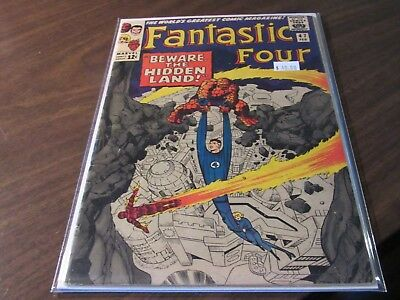 Fantastic Four #47 Silver Age Marvel 12 Cent Vintage Comic Book Classic Cover