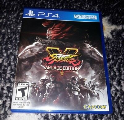 Street Fighter V: Arcade Edition Ps4 PlayStation 4 Used