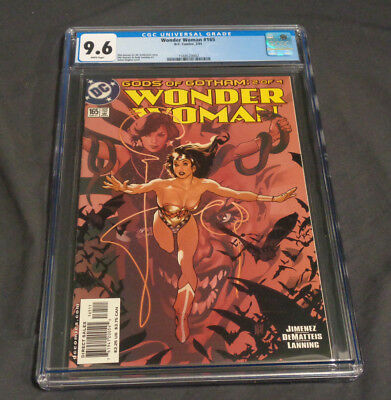 Wonder Woman #165 Dc Comics Modern Age Cgc Graded 9.6 White Pages Adam Hughes