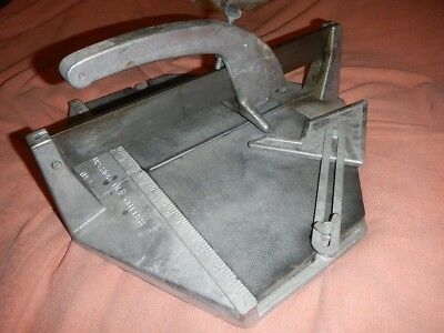 Tile Cutter, Superior No.2, Very Nice Condition