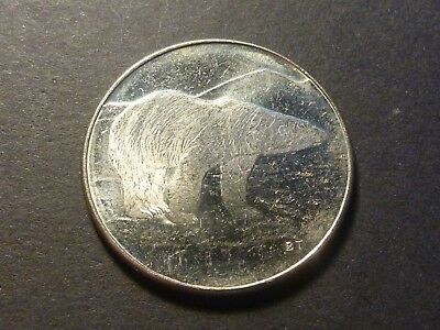 Royal Canadian Mint RCM 2004 Polar Bear Souvenir Token/Medallion 28 mm