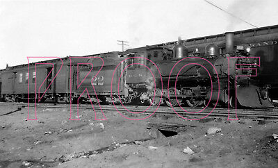 Rio Grande Southern (RGS) Engine 22 with Baggage Car 60 - 8x10 Photo